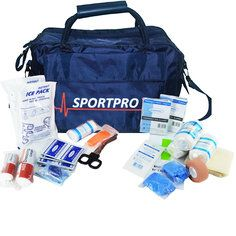SportPro Swimming & Watersports First Aid Kit  Swimming First Aid Kit in Large Blue SportPro Bag