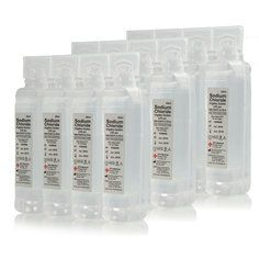 Sterile Saline Eye Wash and Wound Pods - 24 Pods