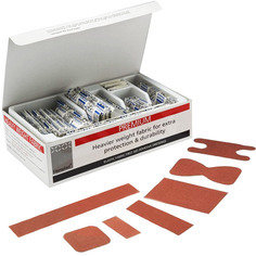 Steroplast Premium Elasticated Fabric Plasters (7 sizes) - 100 per box