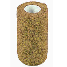 Tan Colour Cohesive Latex Bandage 10cm x 4.5m