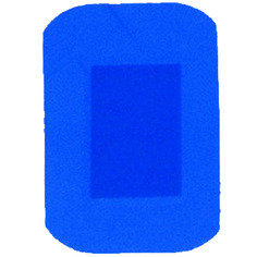 Trade Only Blue Jumbo Plasters 50 Plasters per box