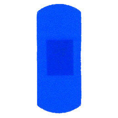 Trade Only Blue Large Plasters 100 Plasters per box