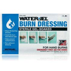 Water-Jel Sterile Burn Dressing for Hand Burns