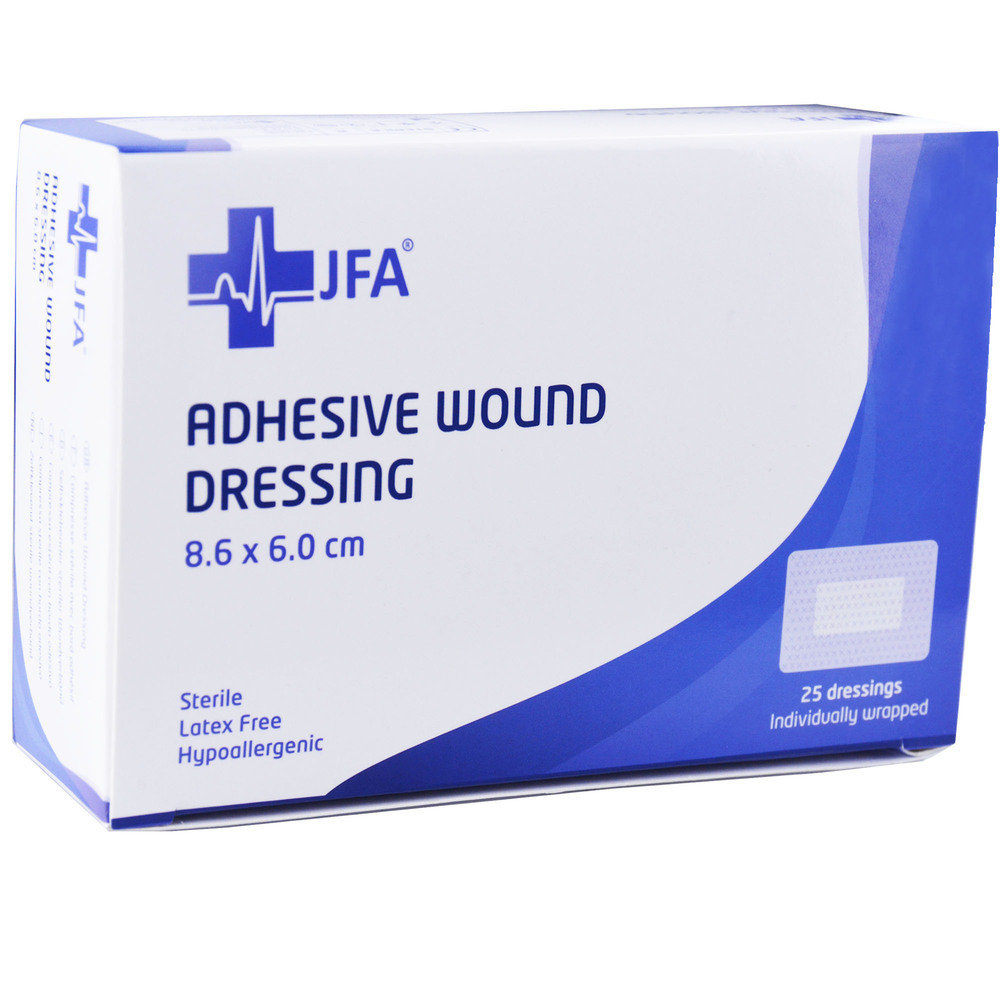 Adhesive Sterile Wound Dressings - Pack of 25 (60mmx86mm)