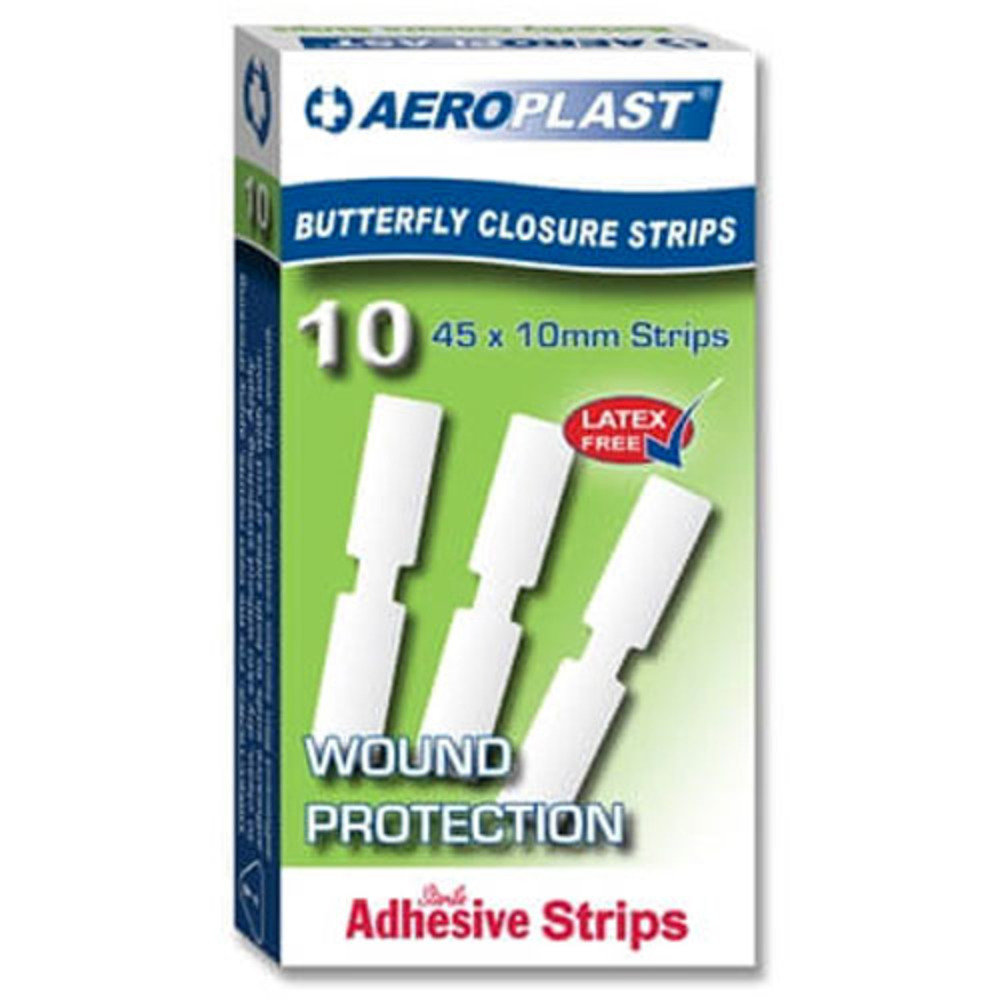 Butterfly wound closure strips - Pack of 10