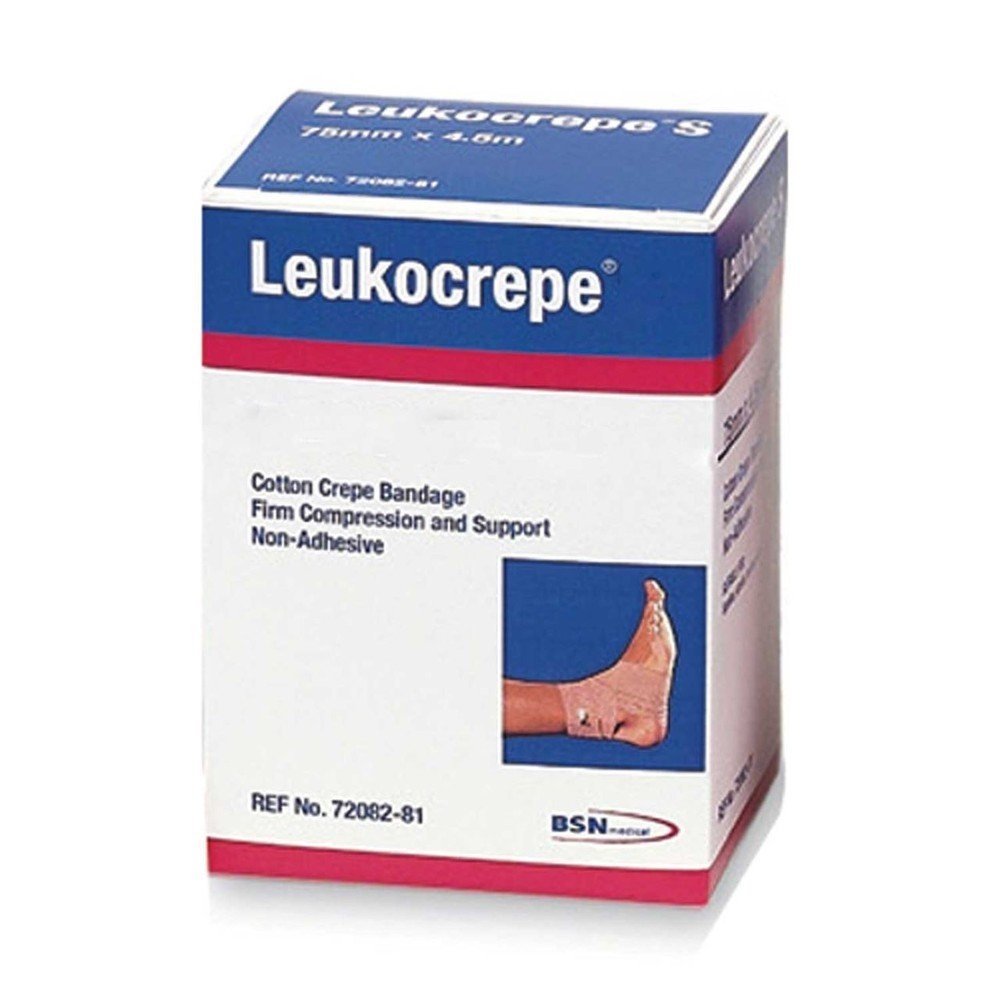 Leukocrepe Bandage (BSN) 10cm x 4.5m (stretched) -  PACK OF 12