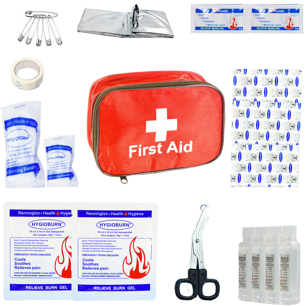 JFA Burns Economy First Aid Kit - Fabric Case
