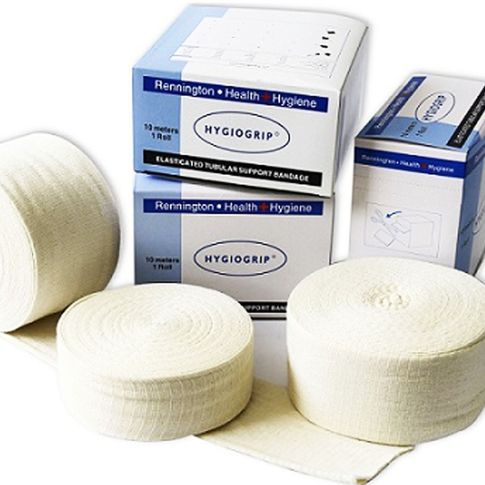 Elasticated Tubular Support Bandage Size C - Adult Wrist 6.75cm x 1m