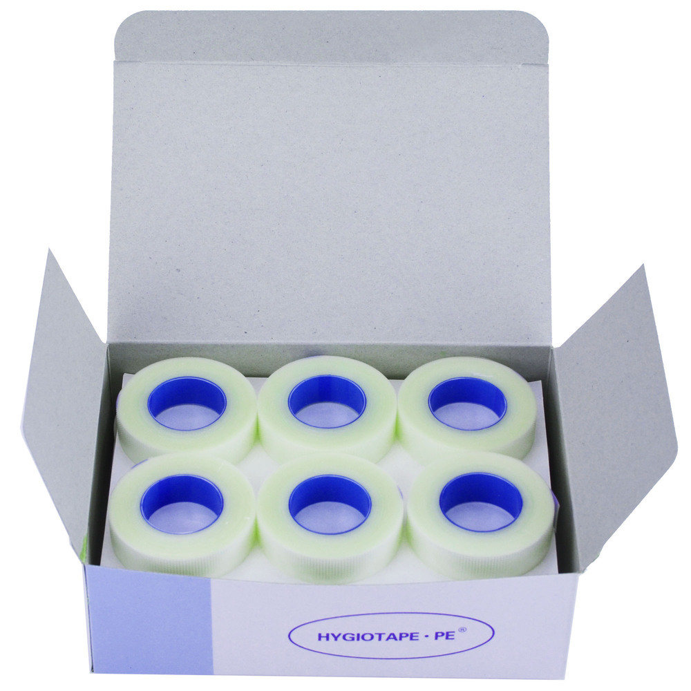 High Quality Transparent Medical tape 1.25cm x 9.14m - BOX OF 24