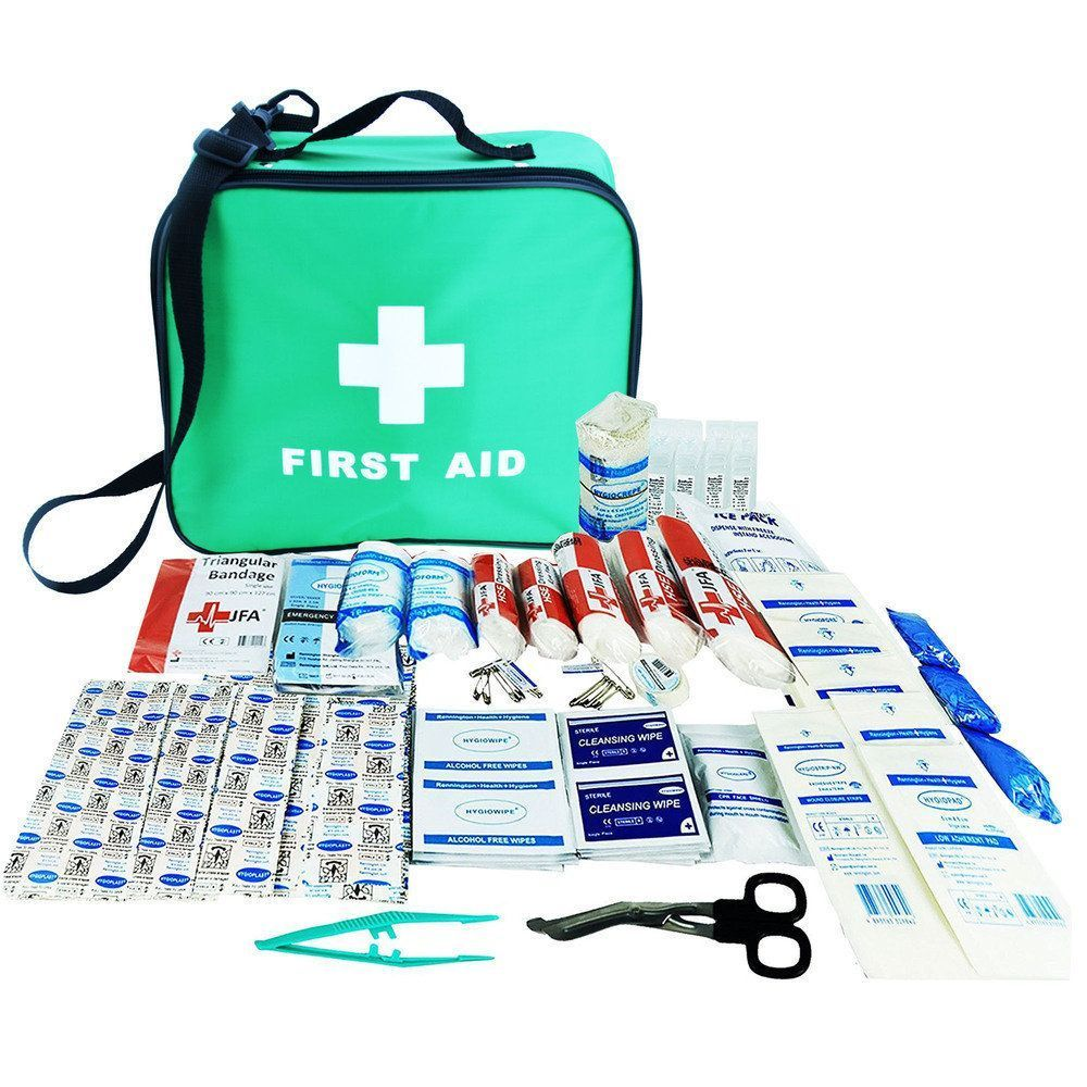 JFA 230 Piece Comprehensive First Aid Kit Bag