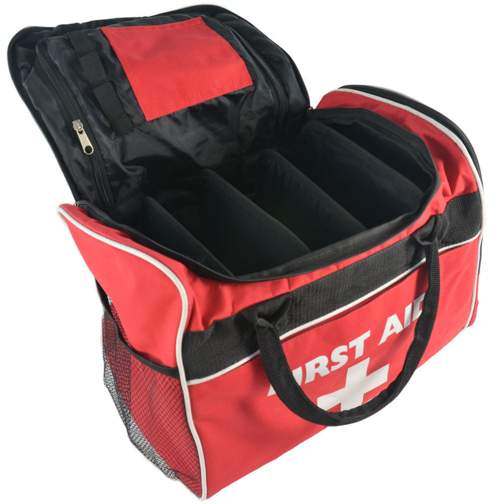 Sportpro All-Purpose Sports First Aid Kit in Large Red Run