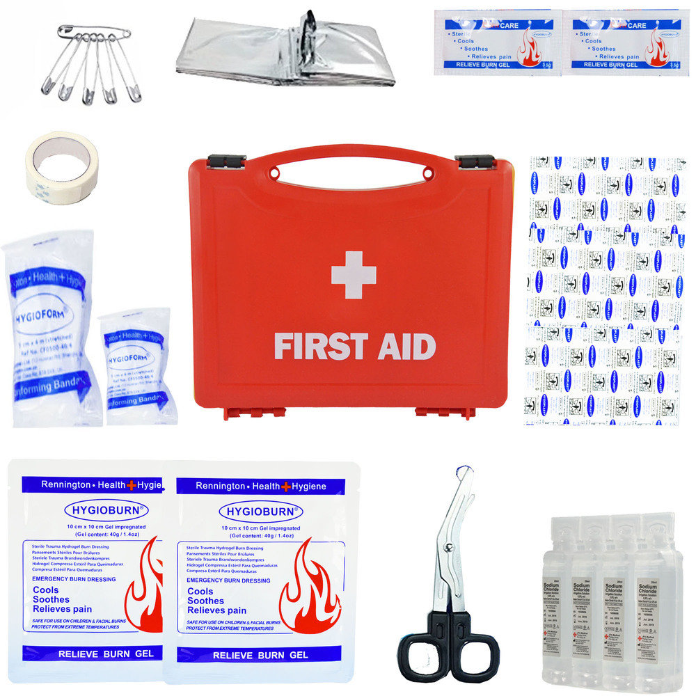 JFA Burns Economy First Aid Kit - Standard Case