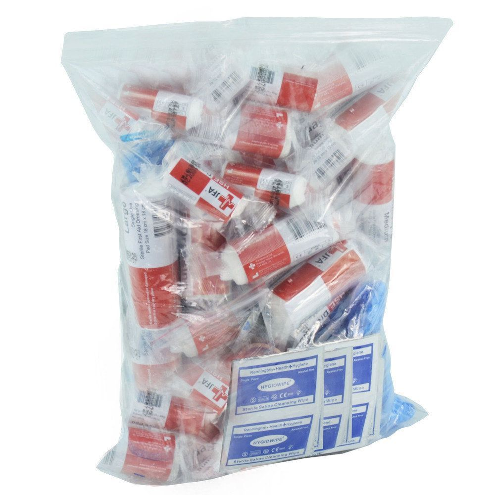 JFA Medical 20 Person HSE Workplace First Aid Kit Refill