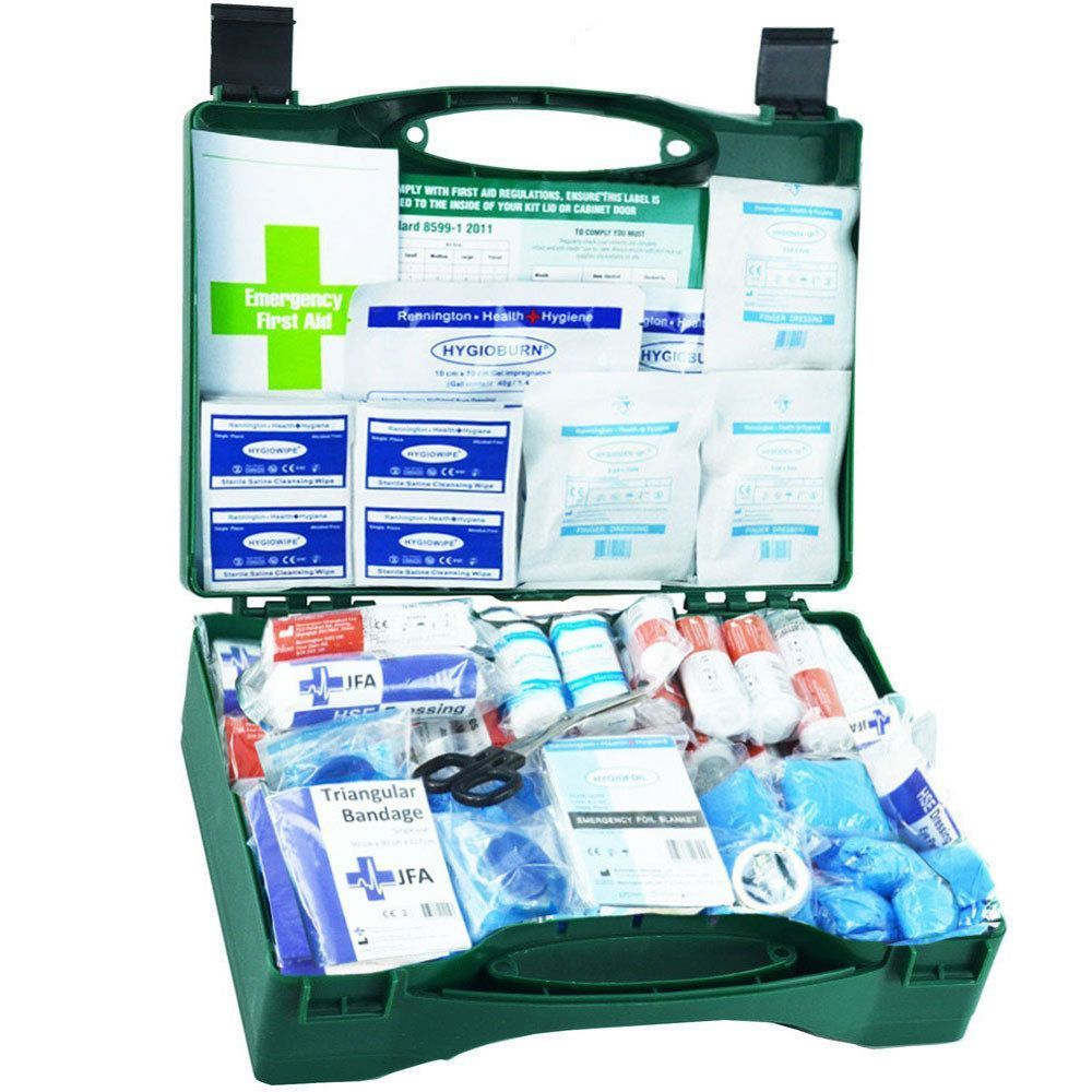 JFA Large BSI First Aid Kit in standard case