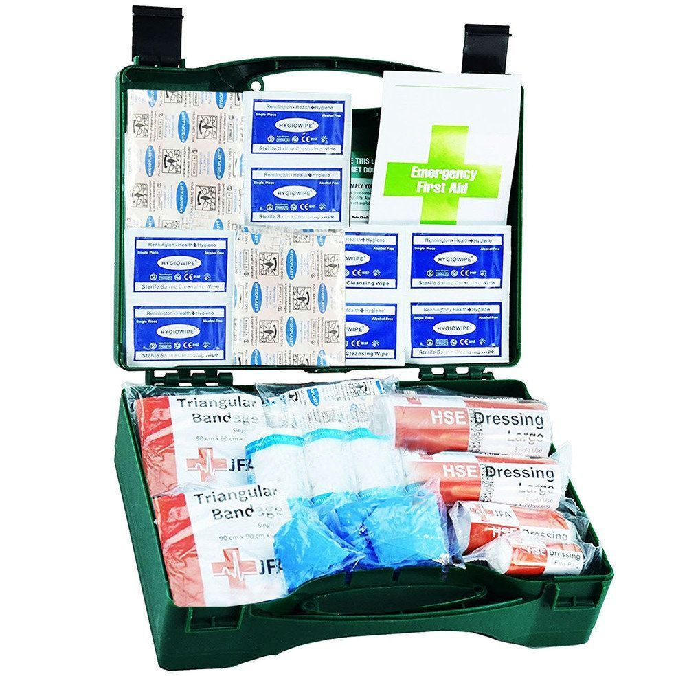 JFA Medical 20 Person HSE Compliant Workplace First Aid Kit in standard case