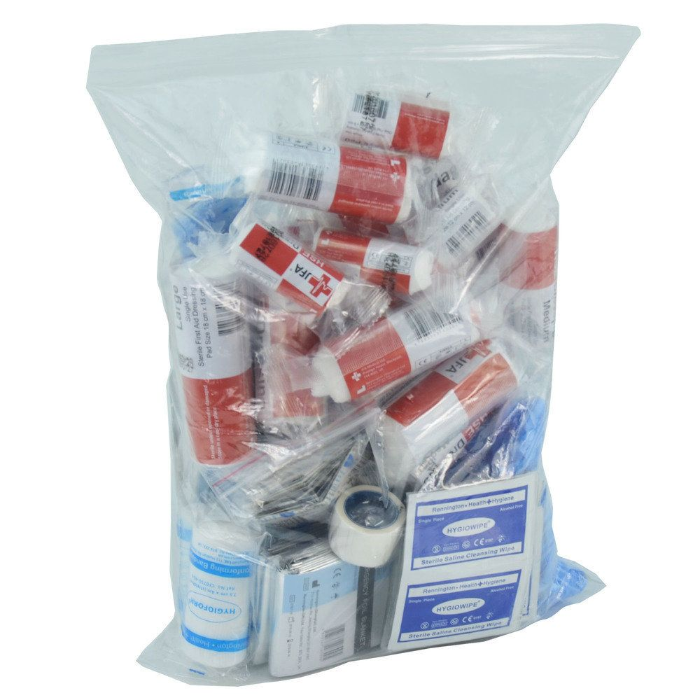 JFA large BSI first aid kit refill