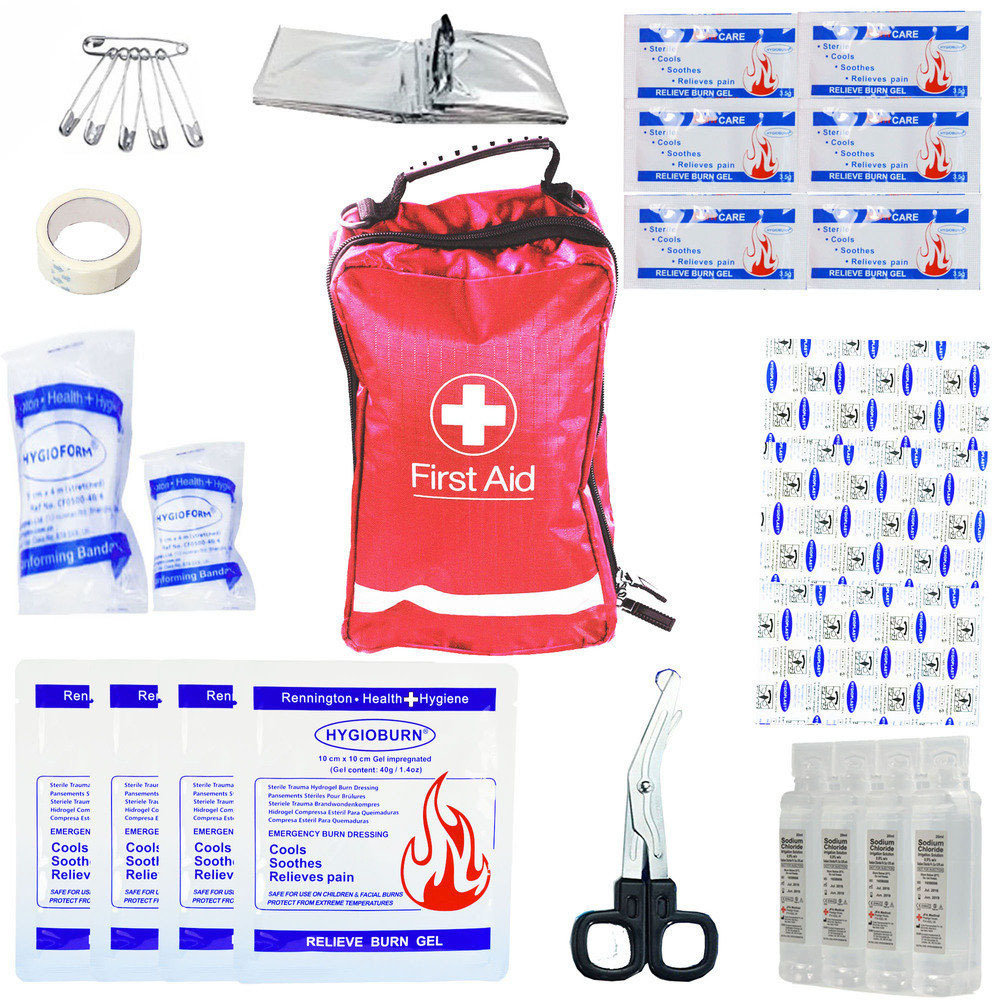 JFA Medical Emergency Large Burns First Aid Kit