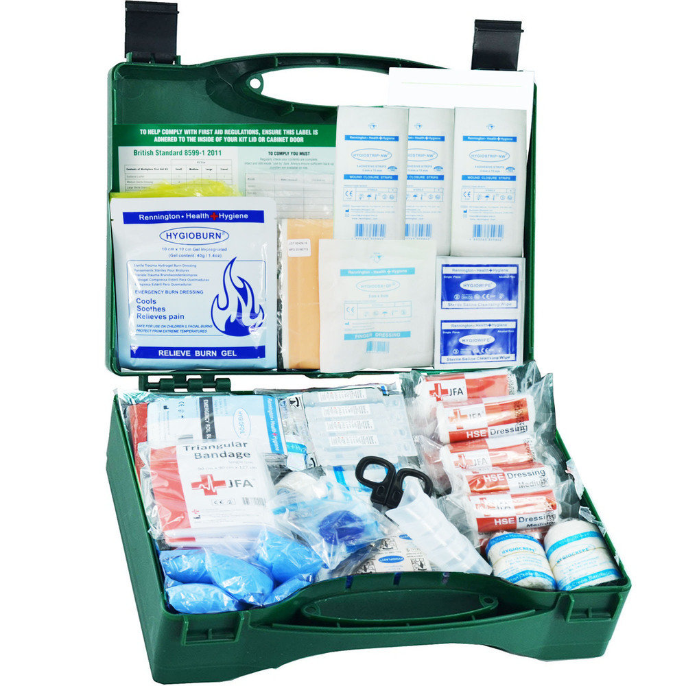 JFA Medical Secondary School First Aid Kit (British Standard Compliant)