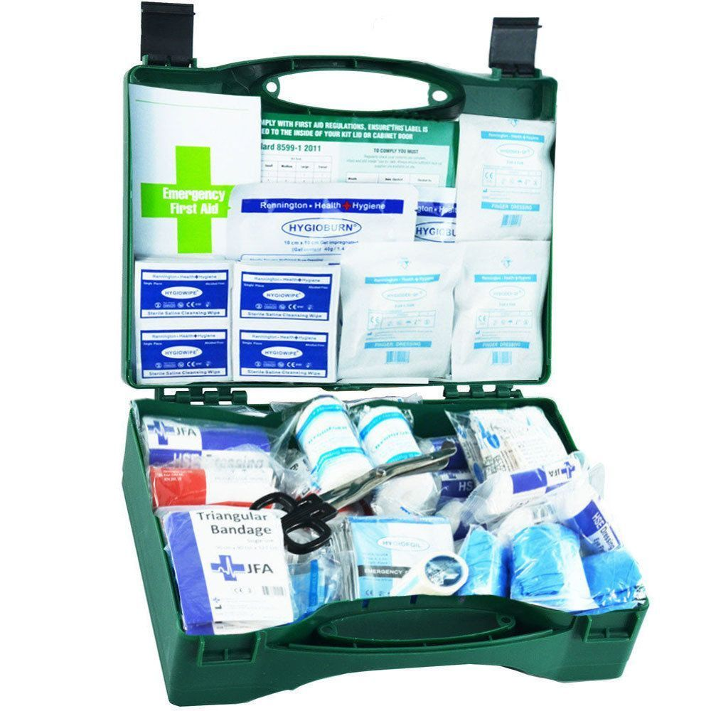 JFA Medium BSI First Aid Kit in standard case