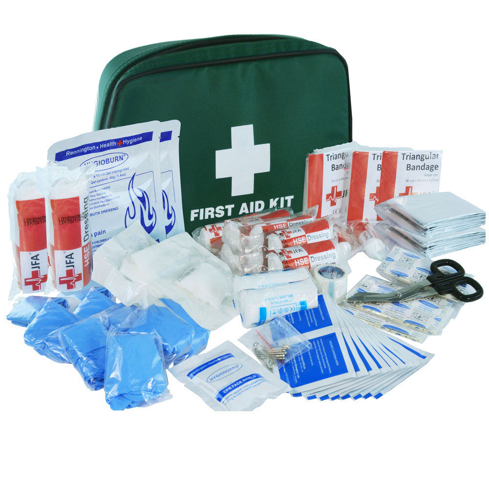 JFA Small BSI First Aid Kit in fabric case