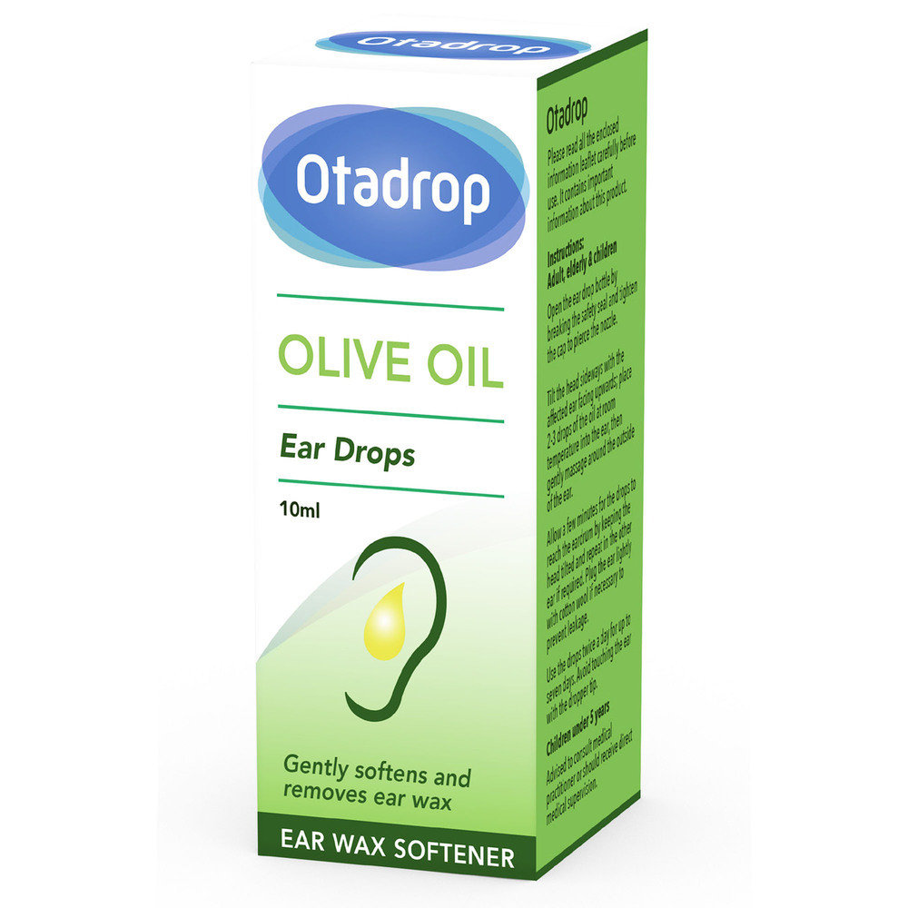 Otadrop Ear Wax Remover Olive Oil Drops 10 ml