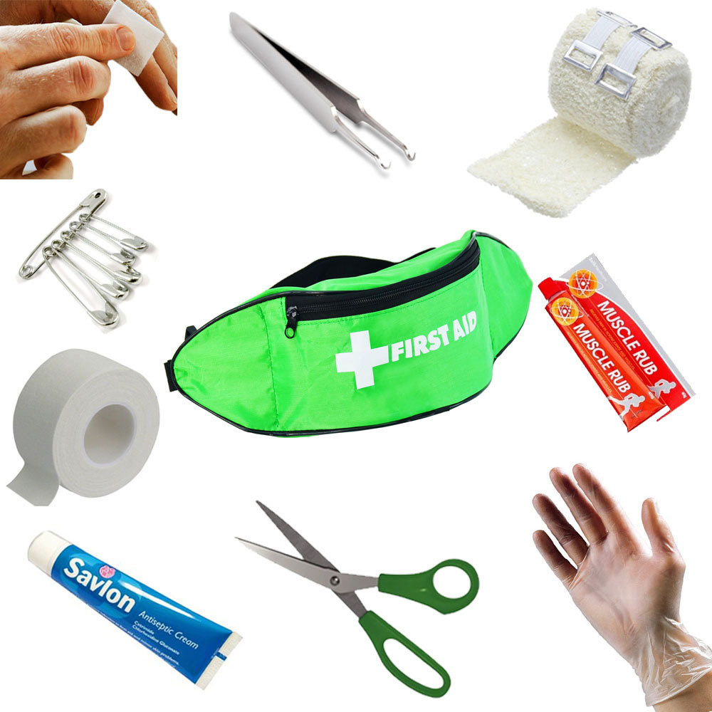 Walking Bum Bag First Aid Kit Refill